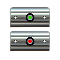 Taco Marine Rub Rail Mounted LED Navigation Light Set 3-3/8'' F38-6602-1 - Essenbay Marine