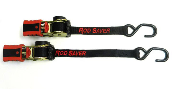 "Rod Saver RT50 - Retractable Tie-Down 1"" x 50"" (Pair) - Essenbay Marine"