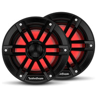 "Rockford Fosgate M1-6B 6"" Color Optix Marine 2-Way System - Black - Essenbay Marine"