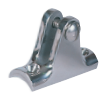 "SS Deck Hinge, Radius Base with Bolt 7/8""-1"" OD SSTB66105 - Essenbay Marine"