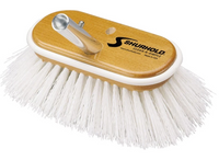 "SHURHOLD 6"" Deck Brush STIFF White Polypropylene #950 - Essenbay Marine"
