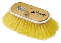 "SHURHOLD 6"" Deck Brush MEDIUM yellow polystyrene #955 - Essenbay Marine"