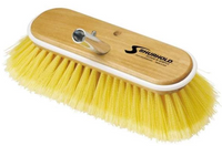 "SHURHOLD 10"" Deck Brush SOFT yellow polystyrene #980 - Essenbay Marine"