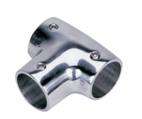 "90 Degree Tee 7/8"" SS Rail Fitting SSFT66043 - Essenbay Marine"