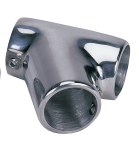 "60 degree 1"" rail fitting SS universal tee SSFT66193 - Essenbay Marine"