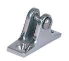 Angled Base SS Deck Hinge 12 Degree Slant SSTF66222 - Essenbay Marine