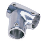 "60 Degree Tee 7/8"" Right 316SS Rail Fitting SSFT66045 - Essenbay Marine"