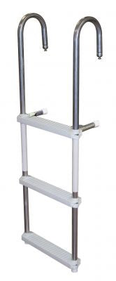 JIF Marine DMM3 3-Step Pontoon Swim Ladder - Essenbay Marine