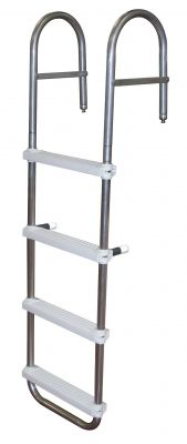 JIF Marine EPW 4 Step Boarding Ladder - Essenbay Marine