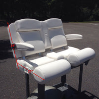 Sea Hunt Boats Gamefish Baitwell Dual Helm Chair / Captains Chair - Essenbay Marine