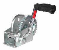 JIF Marine 4:1 Gear Ratio Trailer Winch One Piece Solid Gear / Winch & Strap 1000-1600lb - Essenbay Marine