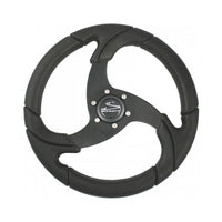 "Schmitt Folletto Wheel - All Polyurethane Black- 3/4"" Tapered Shaft PU021101 - Essenbay Marine"