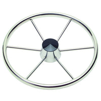 "Schmitt Destroyer Wheel 18"" Dia 3/8"" Spoke 10 Deg Dish Model 150 for 1"" Straight Shaft 1521817 - Essenbay Marine"