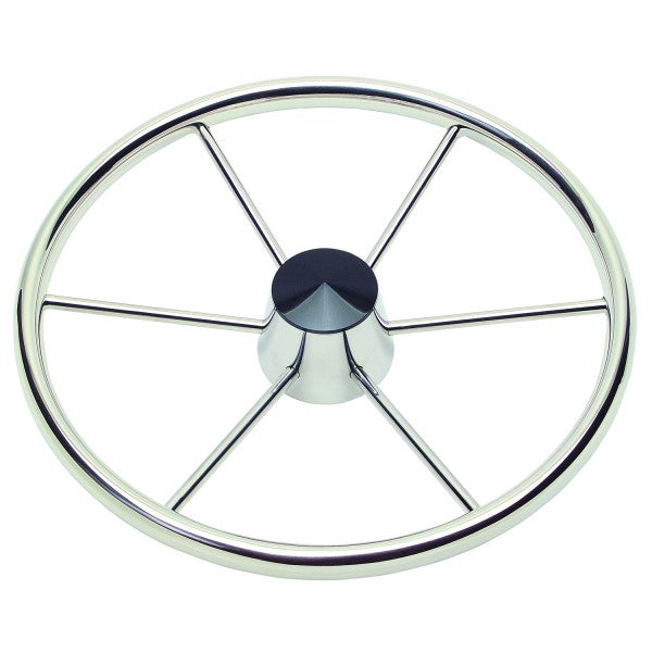 "Schmitt Destroyer Wheel 18"" Dia 3/8"" Spoke 10 Deg Dish Model 150 3/4"" Tapered Shaft 1521811 - Essenbay Marine"