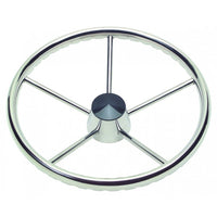 "Schmitt Finger Grip Destroyer Wheel 15 1/2"" Dia 3/8"" Spoke 22 Deg Dish Model 170 3/4"" Tapered Shaft 1731521FG - Essenbay Marine"