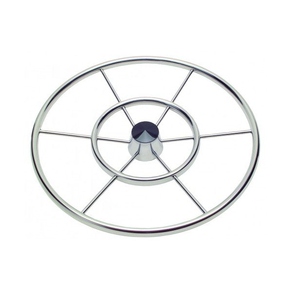 "Schmitt Steering Wheel 24"" Double Ring Destroyer Wheel - Essenbay Marine"