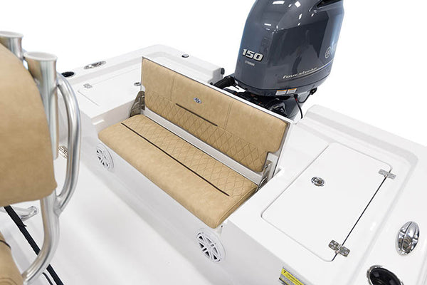 Sportsman Boats 207 Bay Boat (2014-2017) Transom Back Cushion Tan - Essenbay Marine