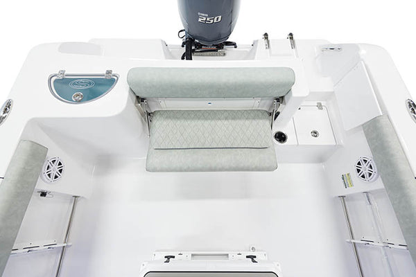 Sportsman Boats 212/232/252/282CC (2017-2019) Transom Back Cushion - Essenbay Marine