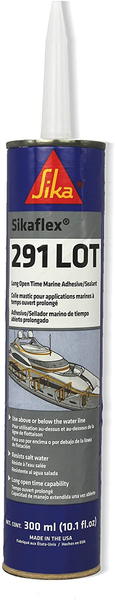 Sikaflex 291 LOT Slow Cure Adhesive & Sealant White 10.3oz [300ml] 90925 - Essenbay Marine