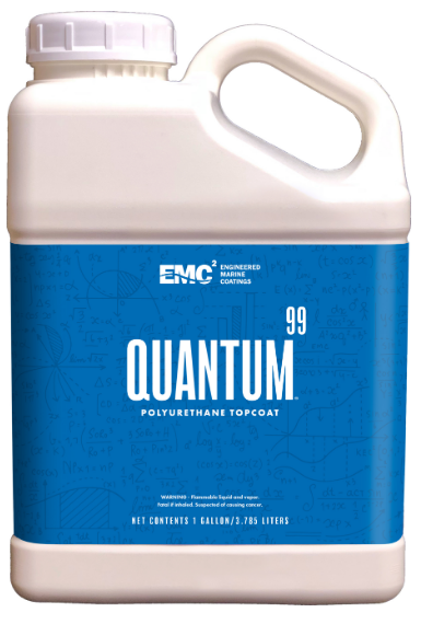 Quantum 99 Ultra Hi-Gloss Top Coat PURE WHITE (Untinted) 99-BA1-1000 - 1QT - Essenbay Marine