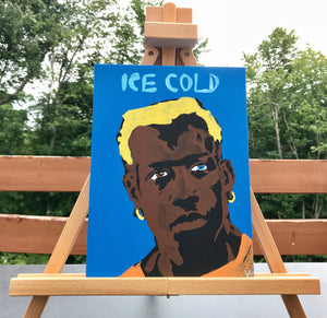"""Ice Cold"" 9x12 ORIGINAL Canvas"