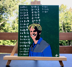 """Attaboy Will Hunting"" 11x14 ORIGINAL Canvas"