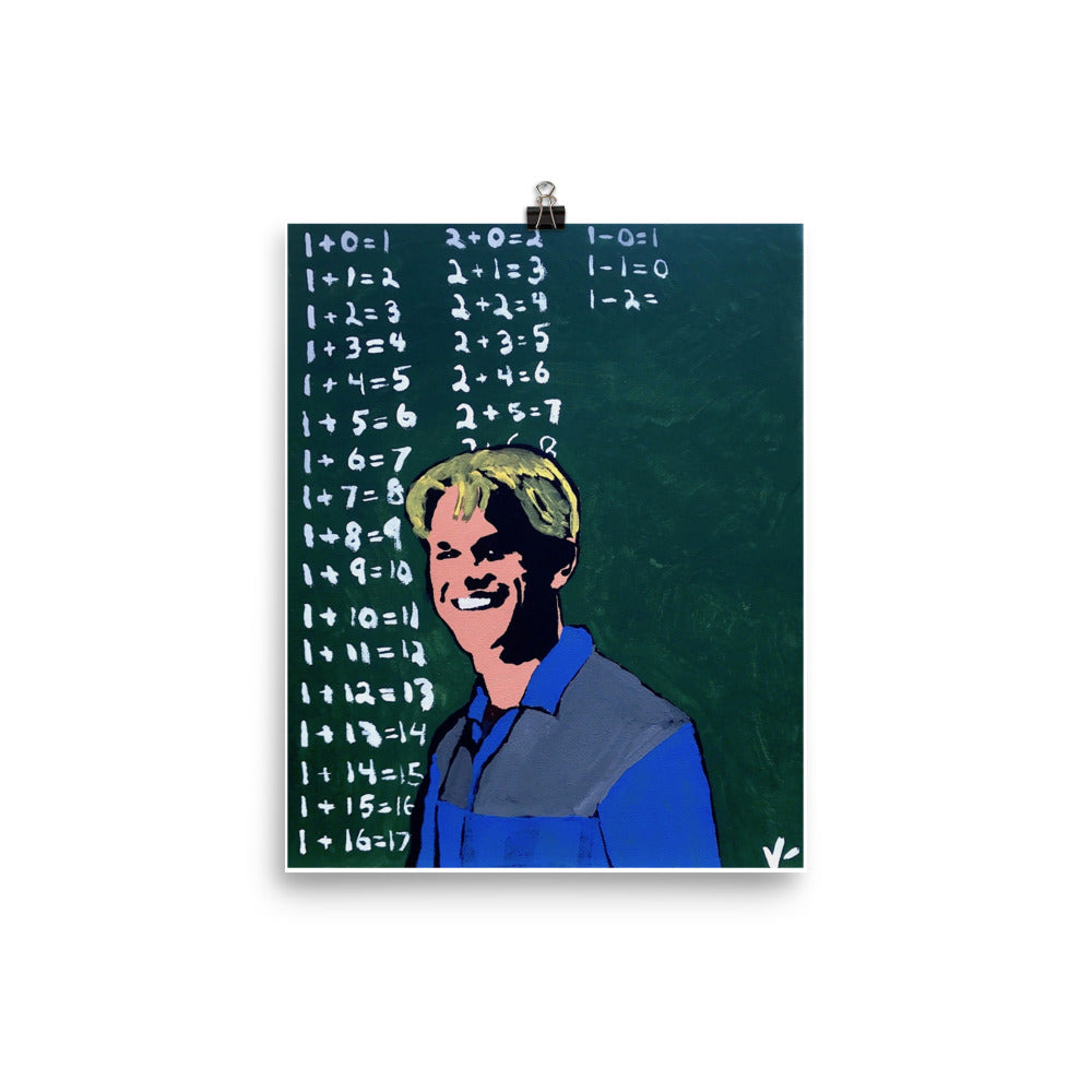 """Attaboy Will Hunting"" Print"