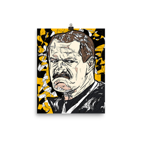 """Cowher Power"" Print"