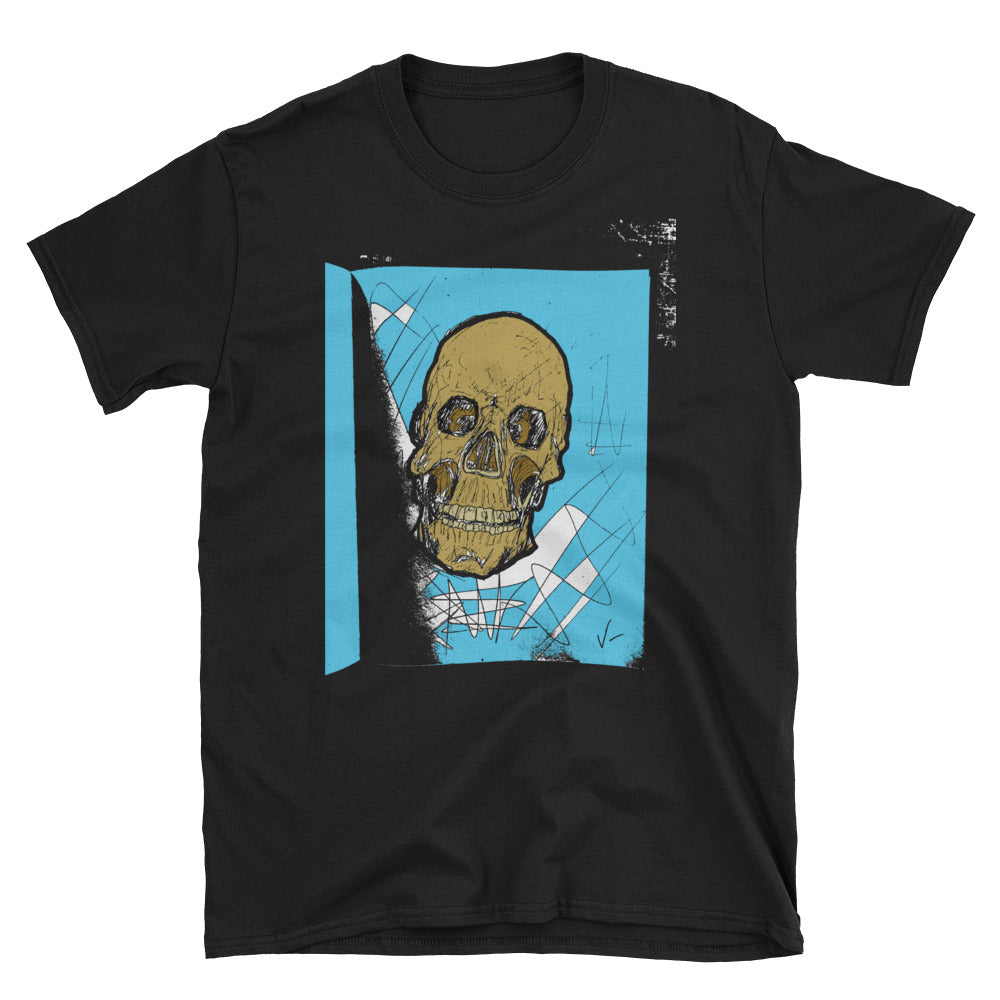 """Just A Skull On A T-Shirt"" Short-Sleeve Unisex T-Shirt"