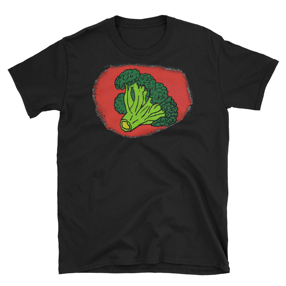 """Broccoli Heart"" Short-Sleeve Unisex T-Shirt"