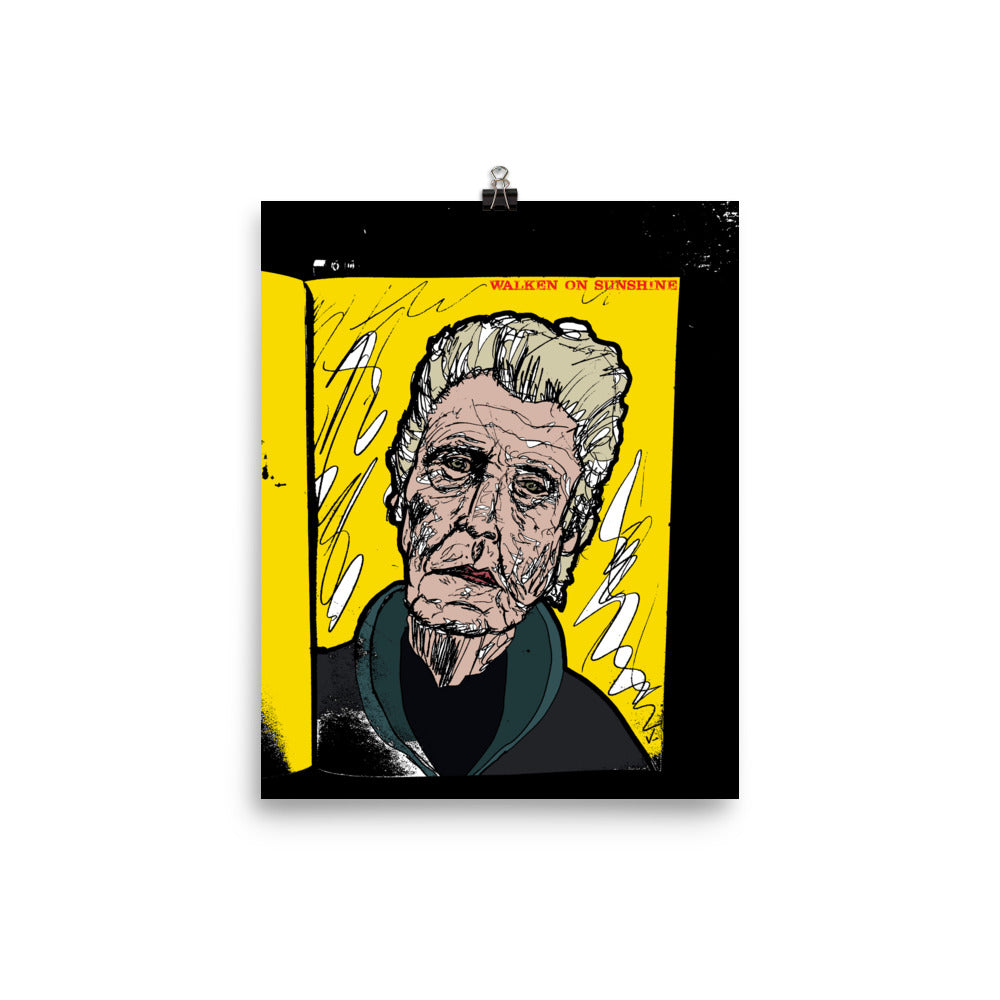 """Walken On Sunshine"" Print"