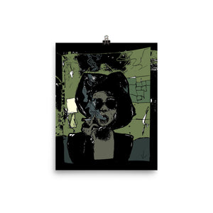 """This Is How I Sketched Marla Singer"" Print"