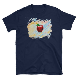 """Just an Apple on a Shirt"" Short-Sleeve Unisex T-Shirt"