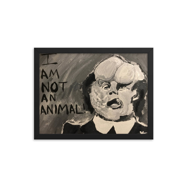 """Vince Watched ""The Elephant Man"" for the First Time on TCM the Other Day"" Print"