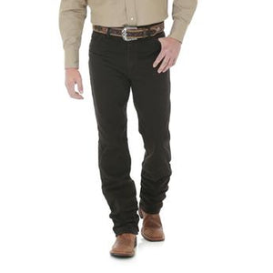 Wrangler Cowboy Cut Slim Fit Black Chocolate