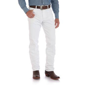 Wrangler Cowboy Cut Original Fit White