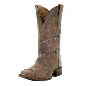 Corral Men's Brown Woven Square Toe