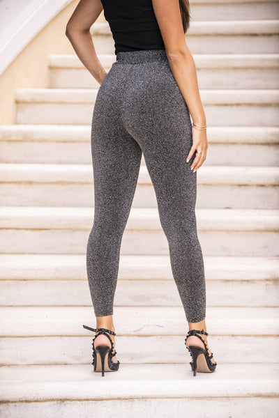 Leggings glamour gris - Joe Deny