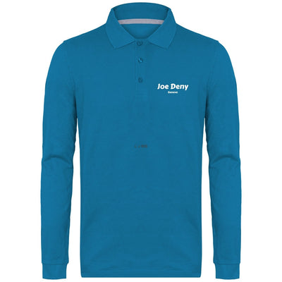 Polo Manches Longues Homme 220 gr - Joe Deny