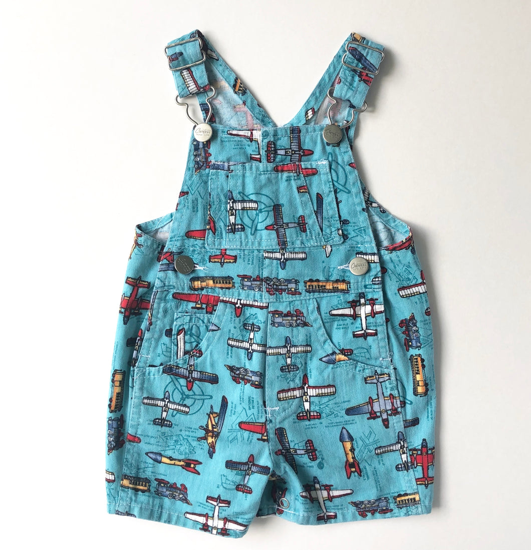 Vintage Plane Carters Overalls