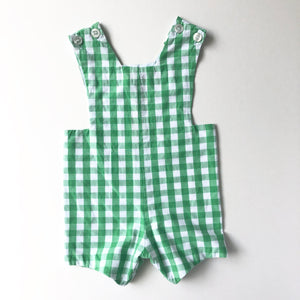 Kelly Green Gingham Jon Jon