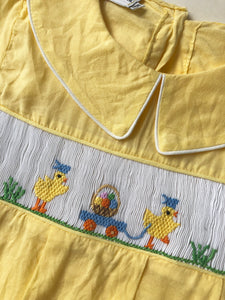 Duck Smocked Easter Bubble