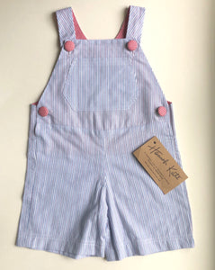 Striped Blue Hannah Kate Overalls