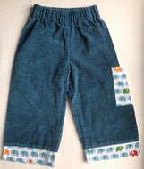 Elephant Cuffed Corduroy Pants