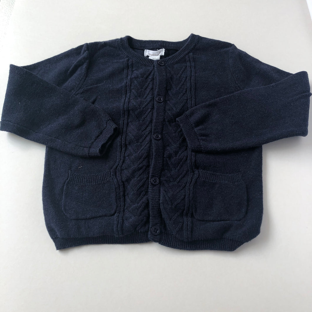 Navy Angel Dear Cardigan