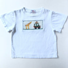 Load image into Gallery viewer, Smocked Zoo Tee