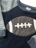 Football Applique Sweatshirt