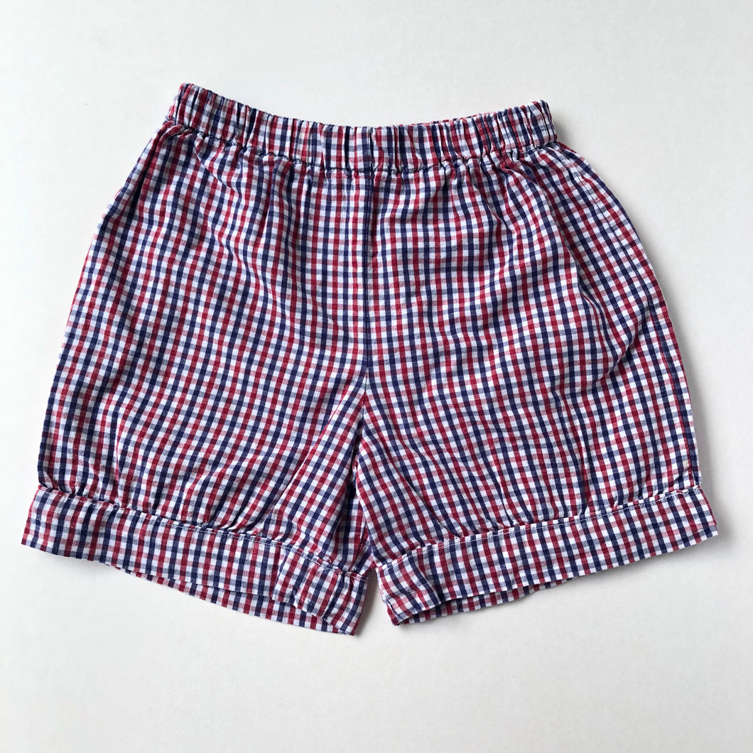 Red, White & Blue Banded Shorts