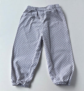 Tan Polka Dot Bubble Pants