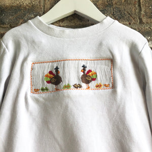 Smocked Turkey Pant Set